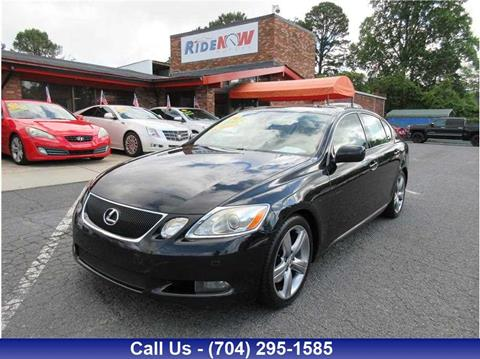 2006 Lexus Gs >> 2006 Lexus Gs 430 For Sale In Charlotte Nc