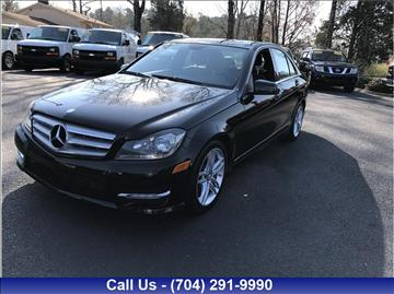 2013 Mercedes-Benz C-Class for sale in Charlotte, NC