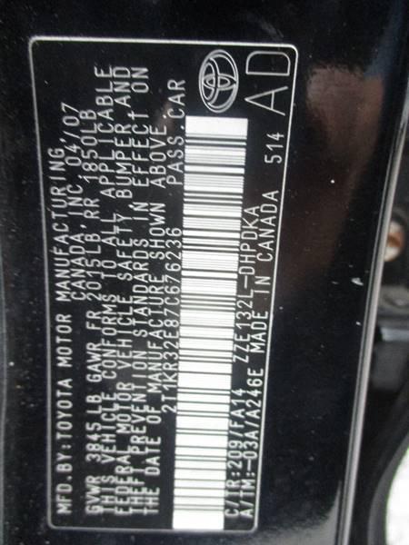2007 Toyota Matrix 4dr Wagon (1.8L I4 4A) - Hasbrouck Heights NJ