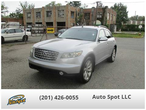 2003 Infiniti FX35 for sale in Hasbrouck Heights, NJ