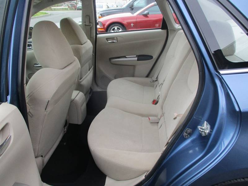 2010 Subaru Impreza AWD 2.5i 4dr Sedan 5M - Hasbrouck Heights NJ
