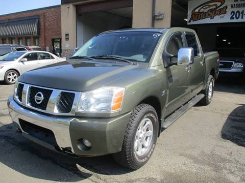 2004 Nissan Titan for sale in Hasbrouck Heights, NJ