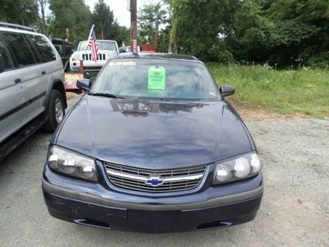2001 Chevrolet Impala for sale in Nicholson, PA