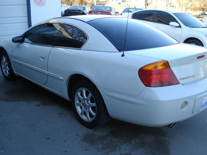 2001 Chrysler Sebring LX 2dr Coupe - Liberty MO