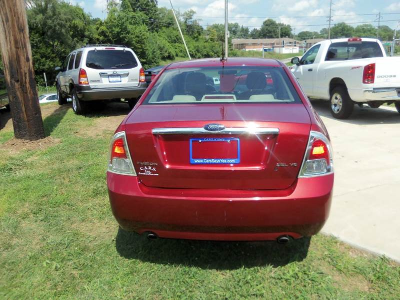 2009 Ford Fusion V6 SEL 4dr Sedan - Liberty MO