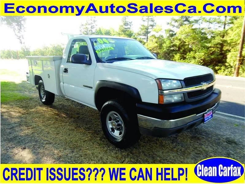 2004 chevrolet silverado 2500hd work truck in modesto ca economy auto sale. Black Bedroom Furniture Sets. Home Design Ideas