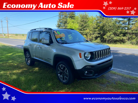 2016 Jeep Renegade for sale at Economy Auto Sale in Modesto CA