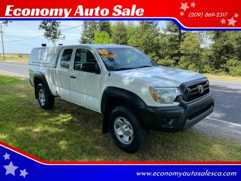 2015 Toyota Tacoma for sale at Economy Auto Sale in Modesto CA
