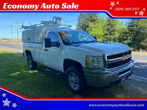 2013 Chevrolet Silverado 2500HD Work Truck for sale at Economy Auto Sale in Modesto CA
