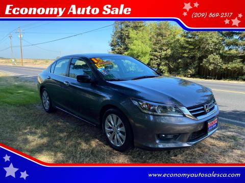 2015 Honda Accord for sale at Economy Auto Sale in Modesto CA