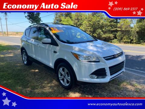 2014 Ford Escape for sale at Economy Auto Sale in Modesto CA