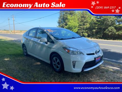 2015 Toyota Prius for sale at Economy Auto Sale in Modesto CA