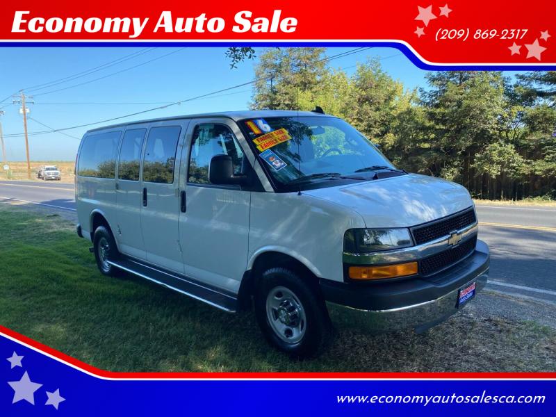 2016 Chevrolet Express Passenger for sale at Economy Auto Sale in Modesto CA
