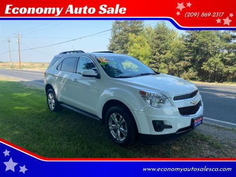 2012 Chevrolet Equinox for sale at Economy Auto Sale in Modesto CA