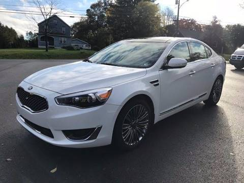 2016 Kia Cadenza for sale at SPINNEWEBER AUTO SALES INC in Butler PA