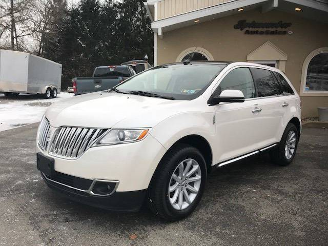 2013 Lincoln Mkx Awd 4dr Suv In Butler Pa Spinneweber Auto Sales Inc