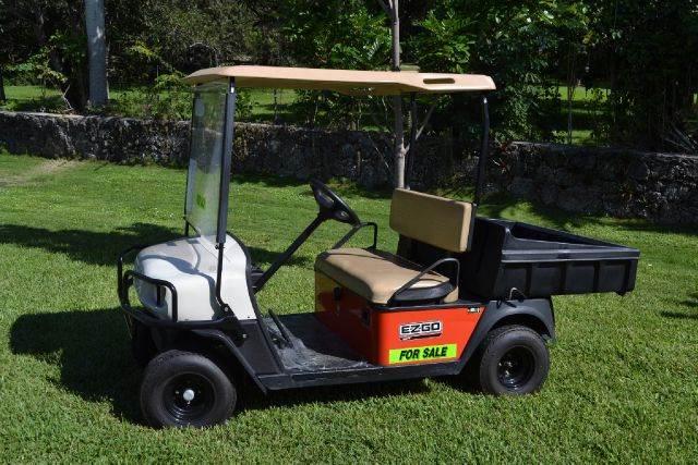 2007 E-Z-GO MPT 800 E for sale at Key Carts in Homestead FL