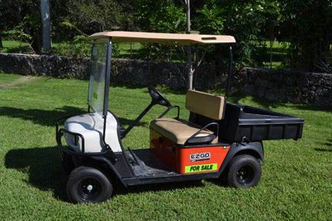 2007 E-Z-GO MPT 800 E for sale at Key Carts in Homestead FL