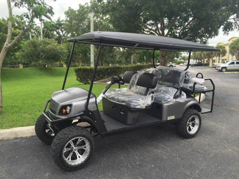 2019 E-Z-GO L6 for sale at Key Carts in Homestead FL