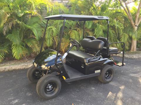 2017 E-Z-GO VALOR for sale at Key Carts in Homestead FL