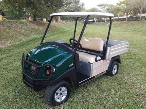2015 Club Car CARRY ALL 550 for sale at Key Carts in Homestead FL
