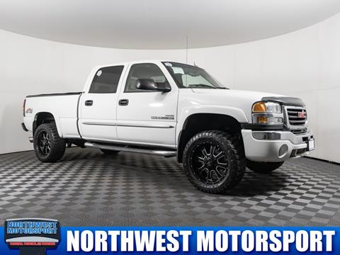 2005 GMC Sierra 2500HD for sale in Puyallup Wa, WA