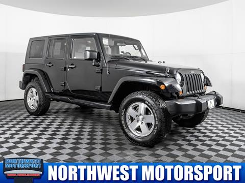 2008 Jeep Wrangler Unlimited for sale in Puyallup Wa, WA