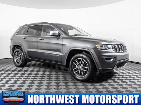 2017 Jeep Grand Cherokee for sale in Puyallup Wa, WA