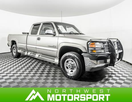 2001 GMC Sierra 2500HD for sale in Puyallup Wa, WA