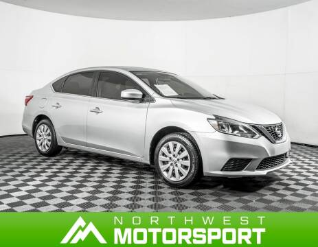 2018 Nissan Sentra for sale in Puyallup Wa, WA