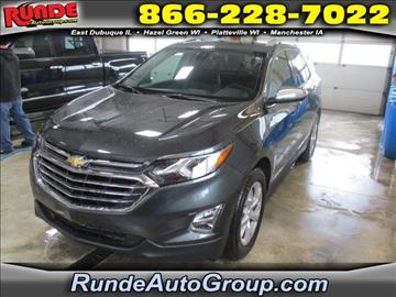 2018 Chevrolet Equinox for sale in East Dubuque, IL