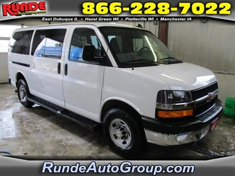 2017 Chevrolet Express Passenger for sale in East Dubuque, IL
