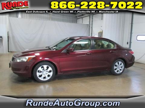 2008 Honda Accord for sale in East Dubuque, IL