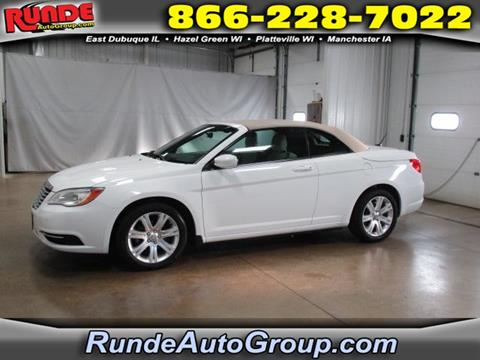 2012 Chrysler 200 Convertible for sale in East Dubuque, IL