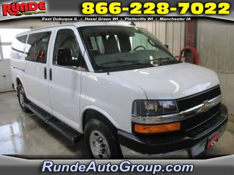 2017 Chevrolet Express Passenger for sale at Runde Chevrolet in East Dubuque IL
