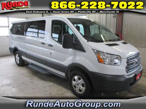 2017 Ford Transit Passenger for sale at Runde Chevrolet in East Dubuque IL