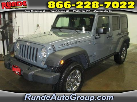 2015 Jeep Wrangler Unlimited for sale in East Dubuque, IL