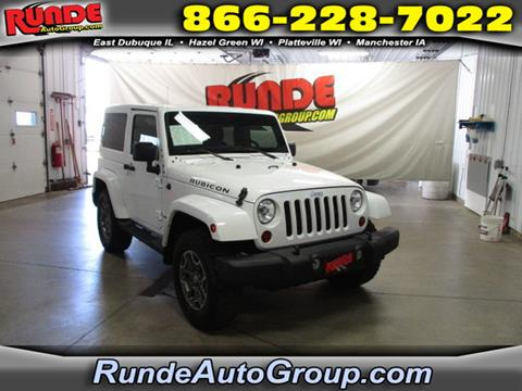 2013 Jeep Wrangler for sale in East Dubuque, IL
