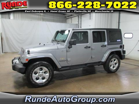 2013 Jeep Wrangler Unlimited for sale in East Dubuque, IL