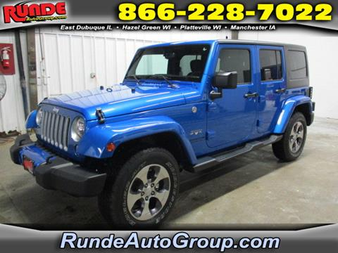 2016 Jeep Wrangler Unlimited for sale in East Dubuque, IL