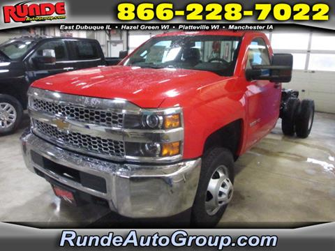 2019 Chevrolet Silverado 3500HD CC for sale in East Dubuque, IL