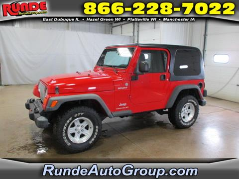 2004 Jeep Wrangler for sale in East Dubuque, IL