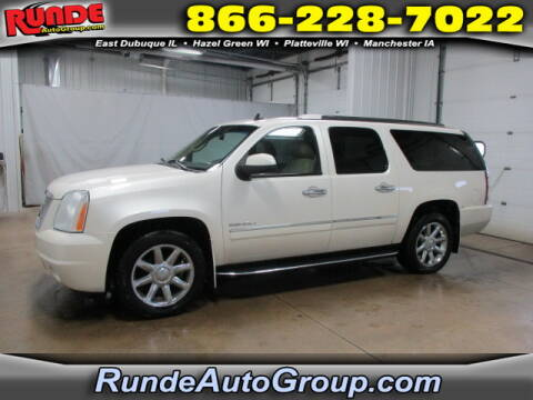 2010 GMC Yukon XL for sale at Runde Chevrolet in East Dubuque IL