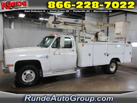 1988 Chevrolet R/V 3500 Series for sale at Runde Chevrolet in East Dubuque IL