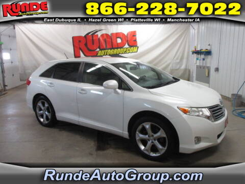 2009 Toyota Venza for sale at Runde Chevrolet in East Dubuque IL