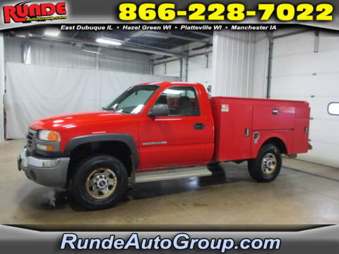 2007 GMC Sierra 2500HD Classic for sale at Runde Chevrolet in East Dubuque IL
