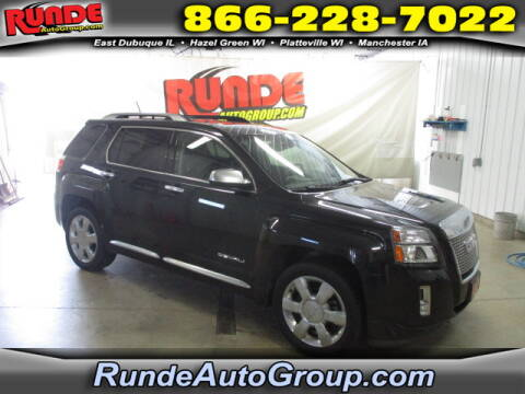 2014 GMC Terrain for sale at Runde Chevrolet in East Dubuque IL
