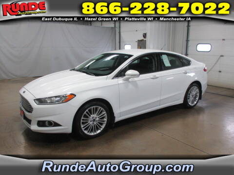 2014 Ford Fusion for sale at Runde Chevrolet in East Dubuque IL