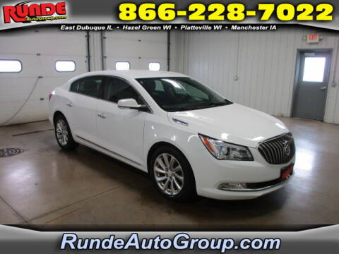 2014 Buick LaCrosse for sale at Runde Chevrolet in East Dubuque IL