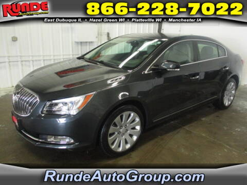 2015 Buick LaCrosse for sale at Runde Chevrolet in East Dubuque IL